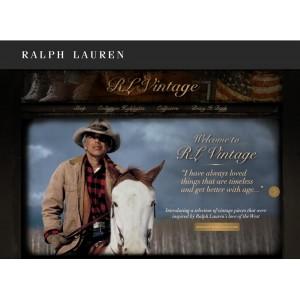 Ralph Lauren lance son site dédié au vintage