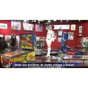 Une vente de jouets vintage à Drouot